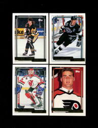 "1992 TOPPS ""GOLD""  HOCKEY NHL COMPLETE SET 529/529"