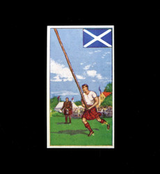 1962 DICKSON ORDE #25 SPORTS OF THE COUNTRIES SCOTLAND