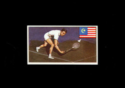 1962 DICKSON ORDE #24 SPORTS OF THE COUNTRIES MALAYA