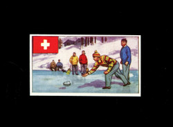 1962 DICKSON ORDE #23 SPORTS OF THE COUNTRIES SWITZERLAND