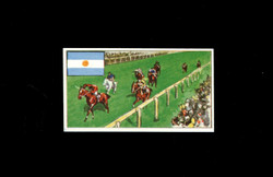 1962 DICKSON ORDE #22 SPORTS OF THE COUNTRIES ARGENTINA
