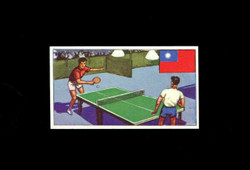 1962 DICKSON ORDE #21 SPORTS OF THE COUNTRIES CHINA