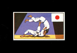 1962 DICKSON ORDE #17 SPORTS OF THE COUNTRIES JAPAN