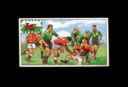1962 DICKSON ORDE #16 SPORTS OF THE COUNTRIES WALES