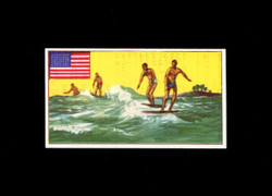 1962 DICKSON ORDE #15 SPORTS OF THE COUNTRIES HAWAII