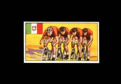 1962 DICKSON ORDE #13 SPORTS OF THE COUNTRIES ITALY