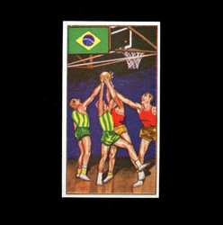 1962 DICKSON ORDE #12 SPORTS OF THE COUNTRIES BRAZIL