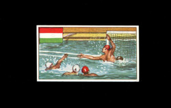1962 DICKSON ORDE #10 SPORTS OF THE COUNTRIES HUNGARY