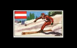 1962 DICKSON ORDE #8 SPORTS OF THE COUNTRIES AUSTRIA
