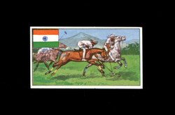 1962 DICKSON ORDE #7 SPORTS OF THE COUNTRIES INDIA