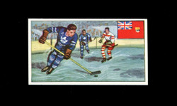 1962 DICKSON ORDE #3 SPORTS OF THE COUNTRIES CANADA ICE HOCKEY