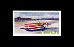 1957 JOHNNY ALLEN SWEETULE PRODUCTS #14 SPORTS RECORDS