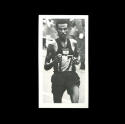 1979 ABEBE BIKILA BROOKE BOND #9 OLYMPIC GREATS