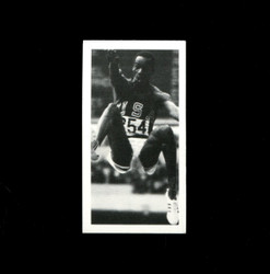 1979 BOB BEAMON BROOKE BOND #15 OLYMPIC GREATS