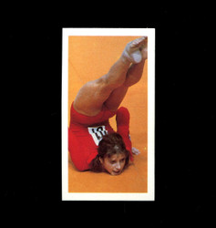 1979 OLGA KORBUT BROOKE BOND #18 OLYMPIC GREATS