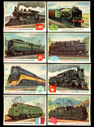 "1959 TOPPS UK A&BC RAILWAY ENGINES ""PRINTED IN ENGLAND"" COMPLETE SET 72/72 *011"