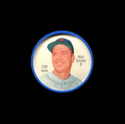 1962 HAL SMITH SHIRRIFF COINS #190 COLTS *8553