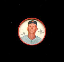 1962 JOE MCCLAINE SHIRRIFF COINS #54 SENATORS *1562