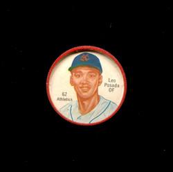 1962 LEO POSADO SHIRRIFF COINS #62 ATHLETICS *8936