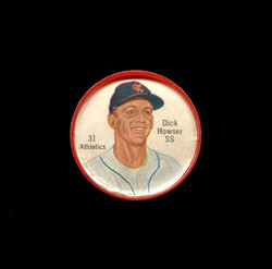 1962 DICK HOWSER SHIRRIFF COINS #31 ATHLETICS *4473