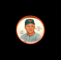 1962 JOHN DE MERIT SHIRRIFF COINS #192 METS *1282