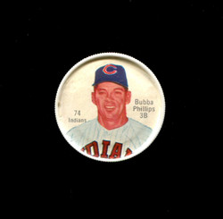 1962 BUBBA PHILIPS SHIRRIFF COINS #74 INDIANS *1243