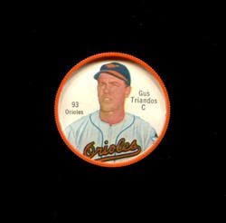 1962 GUS TRIANDOS SHIRRIFF COINS #93 ORIOLES *5138