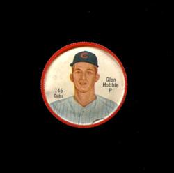 1962 GLEN HOBBIE SHIRRIFF COINS #145 CUBS *3717