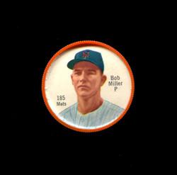 1962 BOB MILLER SHIRRIFF COINS #185 METS *4036