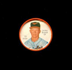 1962 JACKIE BRANDT SHIRRIFF COINS #53 ORIOLES *2586