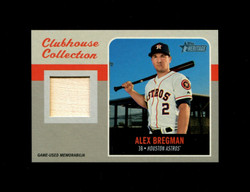 2019 ALEX BREGMAN TOPPS HERITAGE HIGH CLUBHOUSE COLLECTION *4448