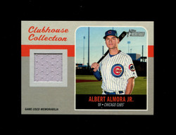 2019 ALBERT ALMORA JR TOPPS HERITAGE HIGH CLUBHOUSE COLLECTION *4911