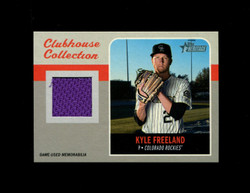 2019 KYLE FREELAND TOPPS HERITAGE HIGH CLUBHOUSE COLLECTION *7468