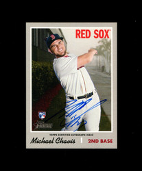 2019 MICHAEL CHAVIS TOPPS HERITAGE HIGH REAL ONE AUTO *R1110