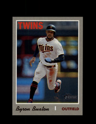 2019 BYRON BUXTON TOPPS HERITAGE #539 ACTION TWINS *6206