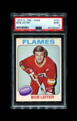 1975 BOB LEITER OPC #191 O-PEE-CHEE FLAMES PS A9