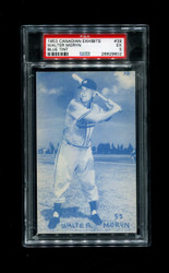 1953 WALTER MORYN CANADIAN EXHIBITS #39 BLUE TINT PSA 5
