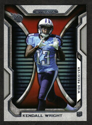 2012 KENDALL WRIGHT TOPPS STRATA #85  ROOKIE 13 CARD HOBBY LOT TITANS