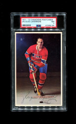 19971 JAQUES LAPERRIERE MONTREAL CANADIENS POSTCARDS PSA 7