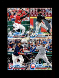 "2018 TOPPS HOLIDAY BASEBALL ""METALLIC"" U-PICK COMPLETE SET"