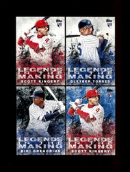 2018 TOPPS UPDATE BASEBALL LEGENDS IN THE MAKING U-PICK COMPLETE YOUR SET