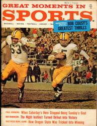 1962 GREAT MOMENTS IN SPORTS MAGAZINE JANUARY G.B. PACKERS