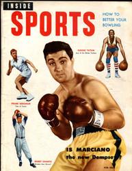 1953 INSIDE SPORTS MAGAZINE FEBRUARY ROCKY MARCIANO
