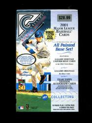 2001 TOPPS GALLERY BASEBALL 11 PACK RETAIL BOX