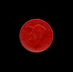 1955 MICKEY VERNON  ARMOUR COINS RED SENATORS *8678