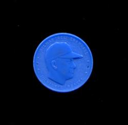 1955 DELMAR CRANDALL ARMOUR COINS BLUE BRAVES *3027