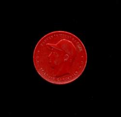 1955 HARVEY HADDIX ARMOUR COINS RED CARDINALS NARROW GAP *6696