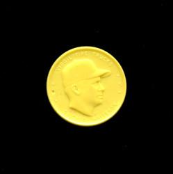 1955 VIRGIL TRUCKS ARMOUR COINS YELLOW WHITESOX 1 WORD *6241