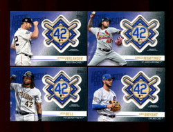 2018 TOPPS BASEBALL UPDATE JACKIE ROBINSON COMMEMORATIVE PATCH U-PICK ..