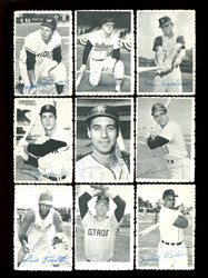 1969 TOPPS BASEBALL DECKLE EDGE COMPLETE 35 CARD SET *011